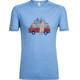 Icebreaker Sphere Van Surf Life - T-shirt manches courtes Homme - bleu